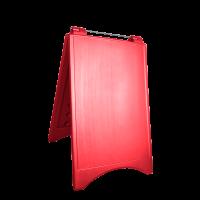 Gri-kırmızı A Tabela 48x74 cm