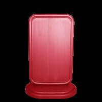 Gri-kırmızı Reklam Dubası 45X75