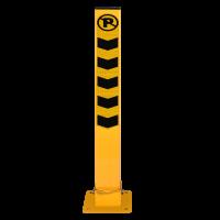 Kilitli Yatar Otopark Direği 8x8 cm